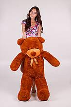 М'яка іграшка ведмедик Рафік 140 см, коричневий