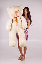 М'яка іграшка ведмедик Рафік 140 см, крем