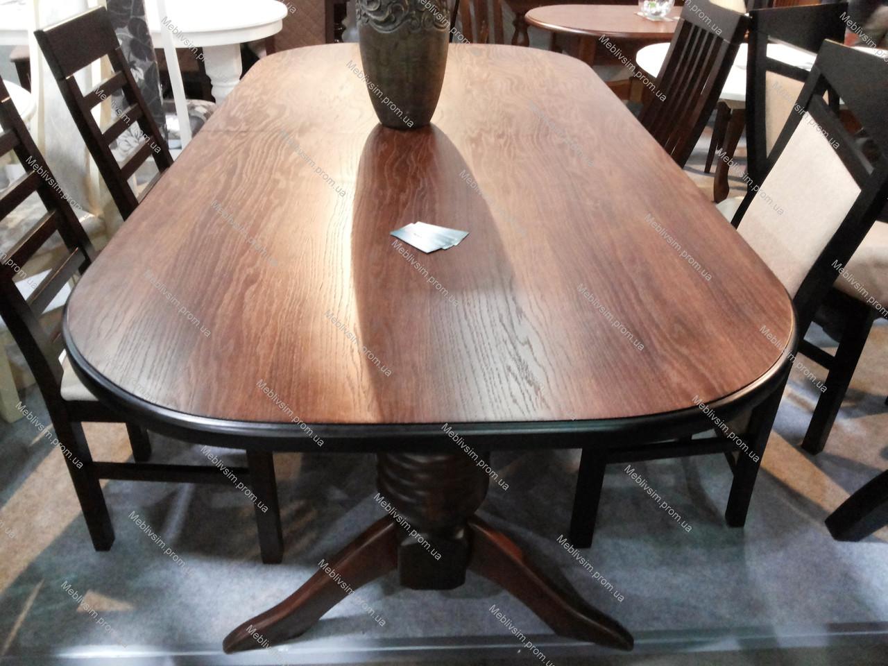 Стол обеденный Гетьман Микс мебель, цвет  орех