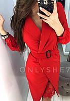 Костюм женский - платье + кардиган