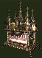 Дарохранительница - копия вашего храма в металле