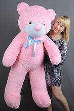 М'яка іграшка ведмедик Рафік 140 см, рожевий