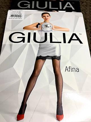 Колготки с узором Giulia AFINA 03, 40 den,, фото 2