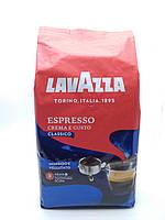 Кава в зернах Lavazza Crema e Gusto Classico 1кг