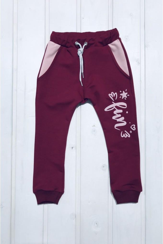 Детские штаны для девочку Код до452о