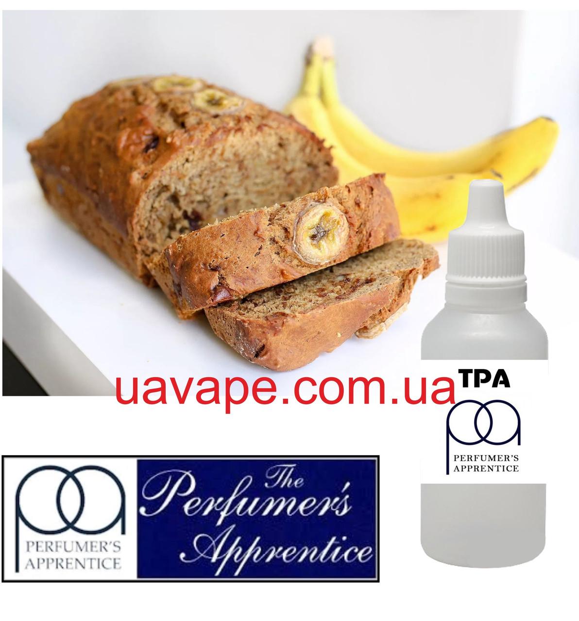 Ароматизатор TPA Banana Nut Bread Flavor Банановый кекс ТПА, 10 мл
