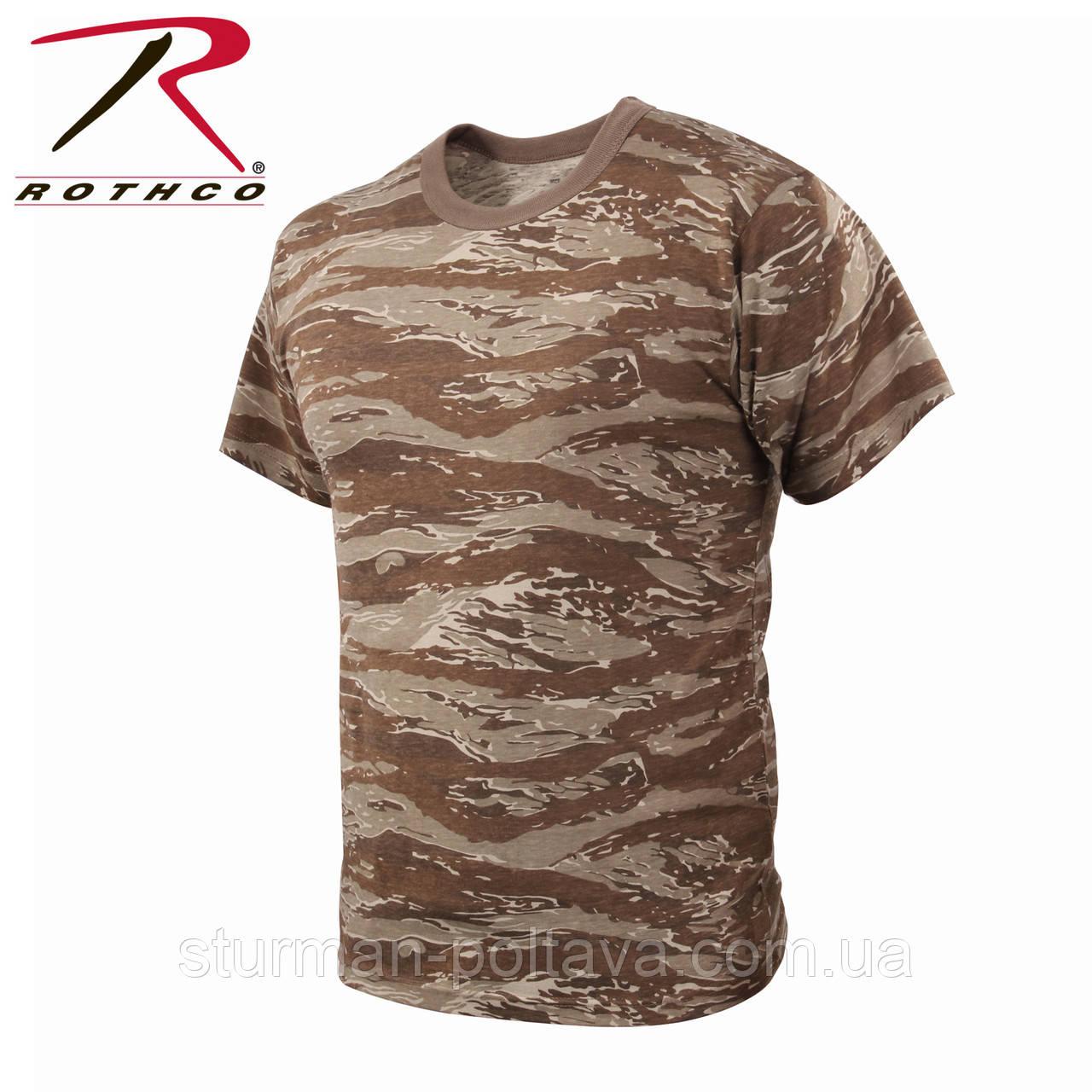 Футболка камуфляжна камуфляж Tiger Desert ROTCHO США