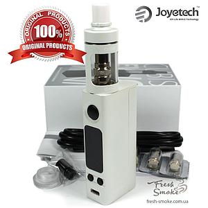Электронная сигарета Joyetech eVic VTC Mini + атомайзер CUBIS | Вейп Starter Kit Белый (Оригинал)