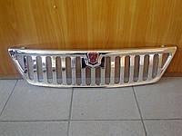 Решетка радиатора Газель, Соболь (хром + знак + сетка)