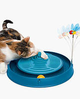 Игрушка д/кошек интерактивная Catit Circuit Ball Toy Massager, фото 1