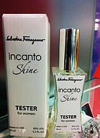 Женские духи - Salvatore Ferragamo Incanto Shine - Тестер реплика, 60 мл, духи женские, парфюм, парфюмерия