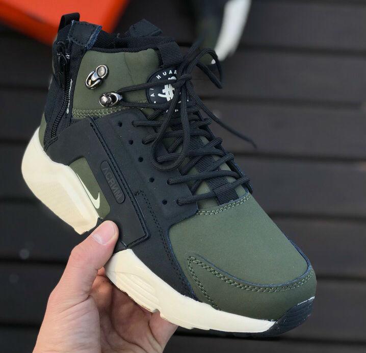 huge discount ceb08 04816 Nike Huarache X Acronym City MID Haki/Black | кроссовки мужские; зимние;  цвет хаки: продажа, цена в Киеве. кроссовки, кеды повседневные от