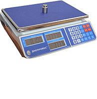 Весы торговые электронные Днепровес F902H-30L1