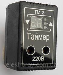 Таймер ТМ-2 10А розеточный многофункциональный DigiCop