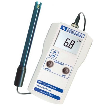 Профессиональный pH-метр Milwaukee MW100 pH, США