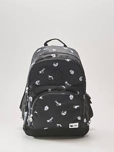 Рюкзак HOUSE - Черный с принтом кошек (чорний з принтом кішок)