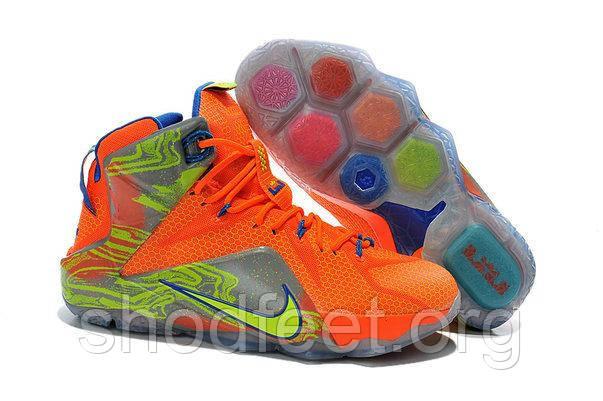 Кроссовки Nike Lebron XII LBJ 12 SIX MERIDIANS (11US 45EU 29cm) Оригинал