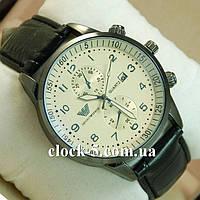 Часы наручные мужские черный ремешок