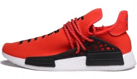 best cheap e6b98 8a015 Мужские кроссовки Adidas x Pharrell Williams Human Race NMD Red (адидас нмд  хьюман рейс, красные)