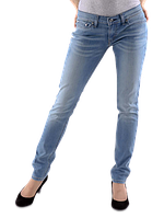Женские джинсы Levis 524™ Skinny Jeans Blue denim, фото 1