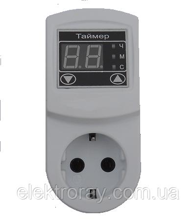 Таймер ТМ - 2 16 А розетка N3 DigiCop