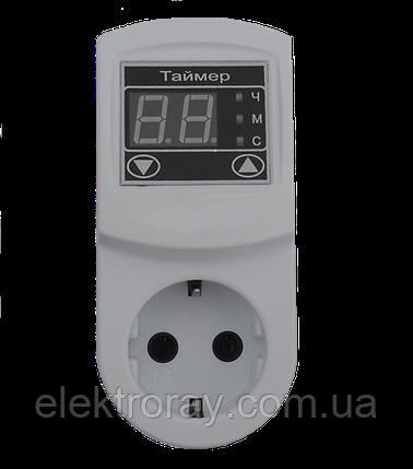 Таймер ТМ - 2 16 А розетка N3 DigiCop, фото 2
