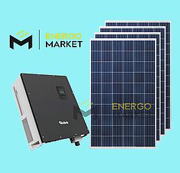 Сетевая солнечная станция 15 кВт (3 фазы, 2MPPT)