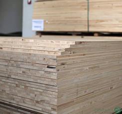 Столярні плити (blockboard) БОРД шпонований