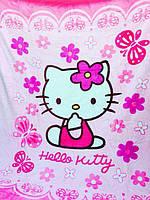 """Детский плед из микрофибры ELWAY """"Hello Kitty"""""""
