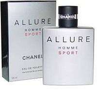 Парфюмерия мужская Chanel Allure Homme Sport EDT 100ml