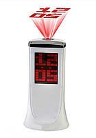Настольные электронные часы с проектором 1136A, фото 1