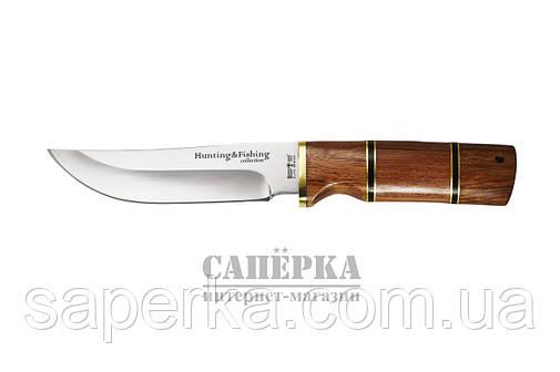 Нож Охотничий Grandway. Рукоять - красное дерево, фото 2