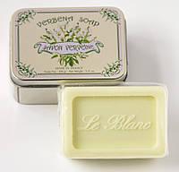 Мыло в жестяной коробочке Вербена Le Blanc 100 г