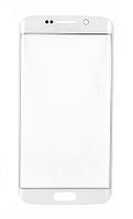 Стекло (для ремонта дисплея) для Samsung G920 Galaxy S6, с OCA пленкой, цвет белый