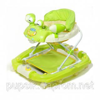 Ходунки детские TILLY 22088 GREEN с качалкой