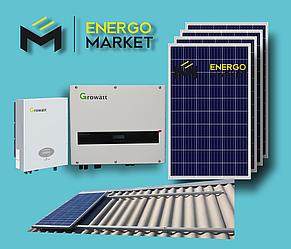 Сетевая солнечная станция 15 кВт