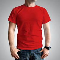 Футболка мужская красная большие размеры