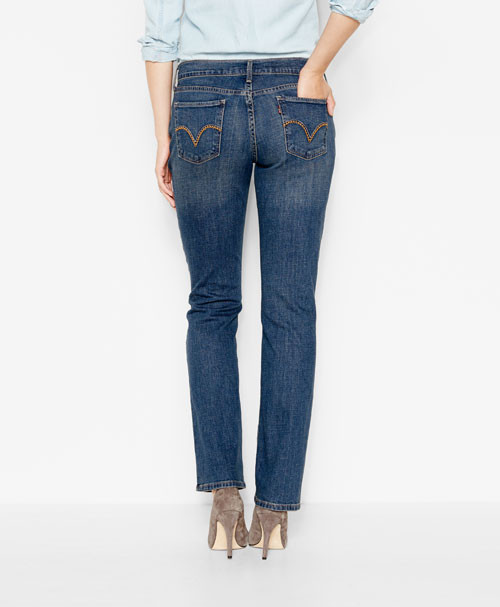d013fea9d6e Женские джинсы Levi s 505 ™ Straight Fit Jeans Always Agreed