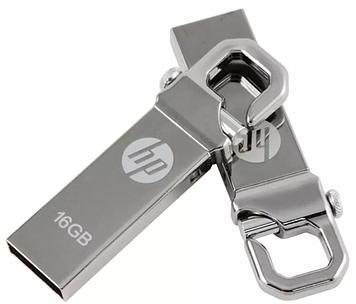 Флеш-память USB HP 16GB микс v250w, с карабином