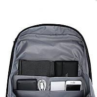 Рюкзак для ноутбука серый BAGSMART, фото 7