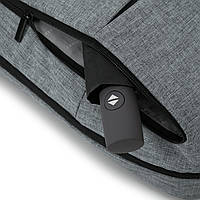Рюкзак для ноутбука серый BAGSMART, фото 8