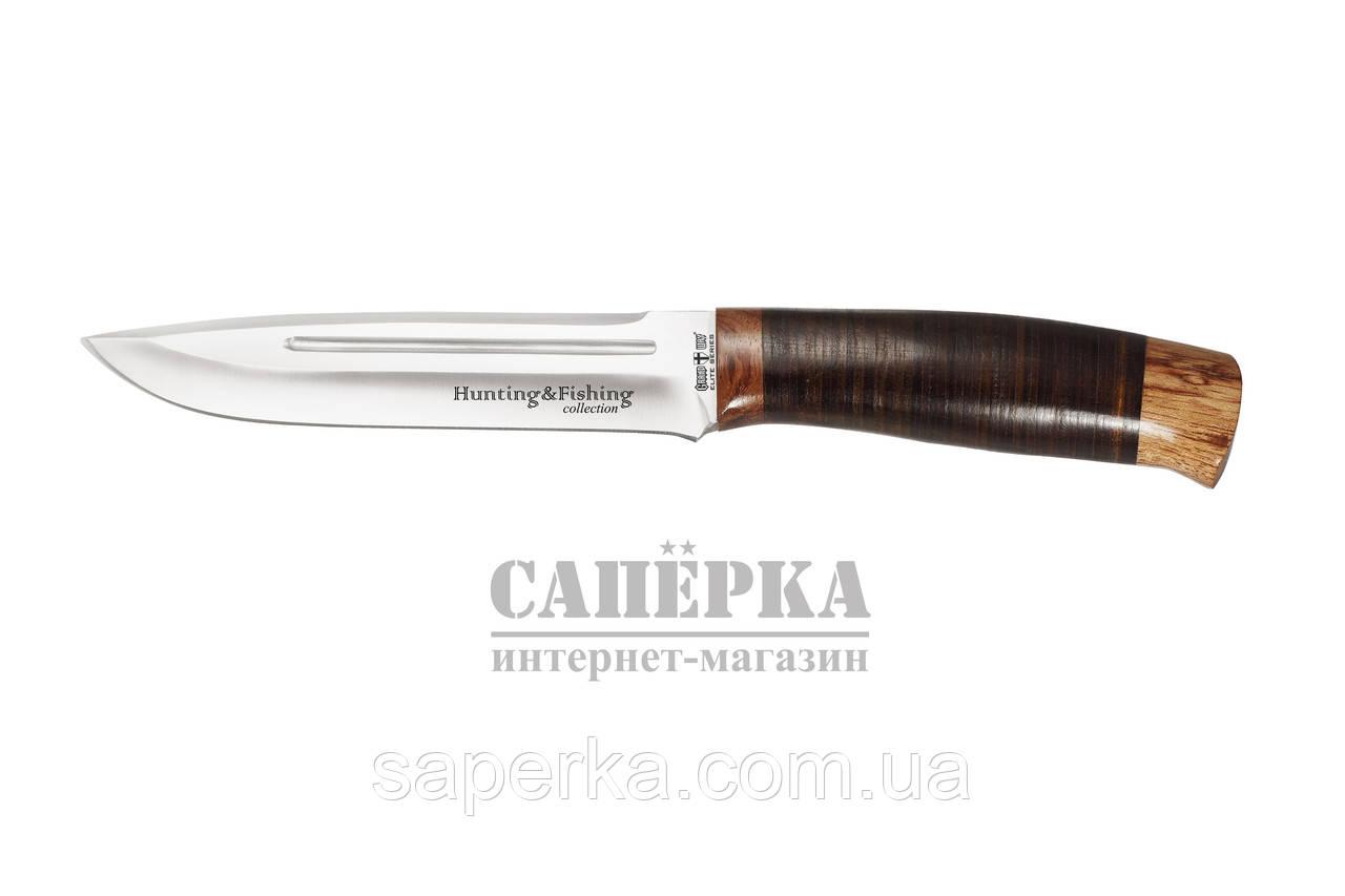 Нож Охотничий Grandway.Рукоять - наборная кожа