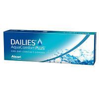 Акция !+10шт в подарок!Контактные линзы однодневные Focus Dailies Aqua