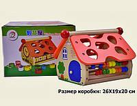 Деревянная игрушка ДомикM02161