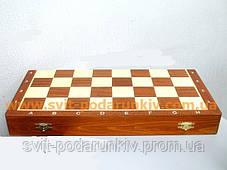 Шахматы из натурального дерева С149с Турнирные 6, фото 3