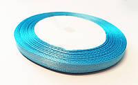 Лента Голубая ширина 6 мм ,длина 1 м / 100 м