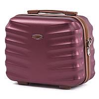 Кейс для чемодану , саквояж чи косметичка , сумочка Wings 402 , бордовий 8f6956bc26a
