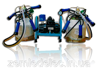 Доильный аппарат Буренка 2 (стакан нержавейка)