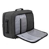 Рюкзак для ноутбука 15.6″ Pomona Bagsmart черный , фото 6