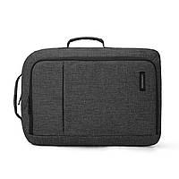 Рюкзак для ноутбука 15.6″ Pomona Bagsmart черный , фото 7